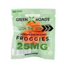 Green Roads On The Go 25mg Froggie