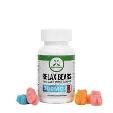 Green Roads 300 MG  RELAX Gummie Bears