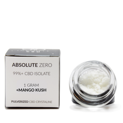 Absolute Zero 1 gram CBD Crystaline