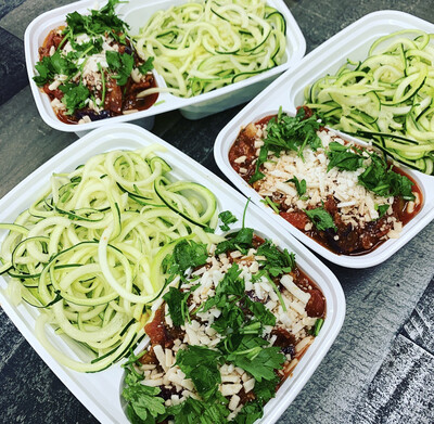 Pizza Zoodles Plant-based