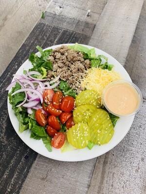 4 oz. Cheeseburger Bowl