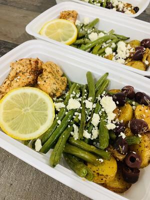 4 oz. Greek Chicken & Potatoes
