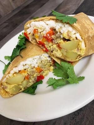 Breakfast Burrito (Frozen)