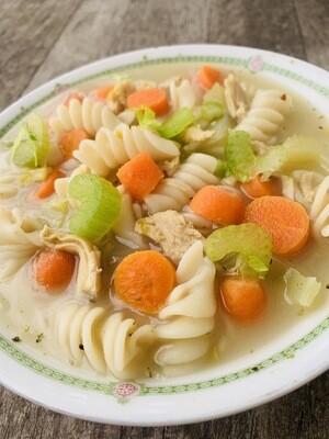 Turkey Noodle Soup (Frozen)