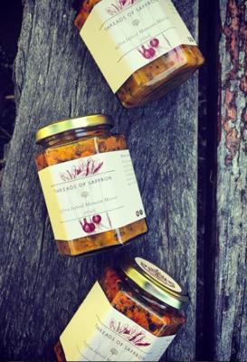 Saffron Infused Morrocan Moreish (2 jars)