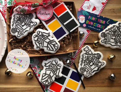 PYO Cookie - Paint Your Own Cookie