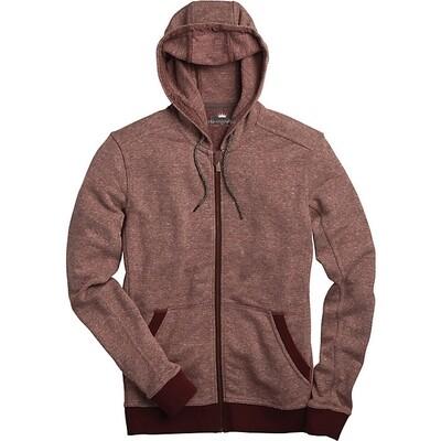 Full Zip Hemp Hoodie - WINE RED -  *SALE* (org. $89)
