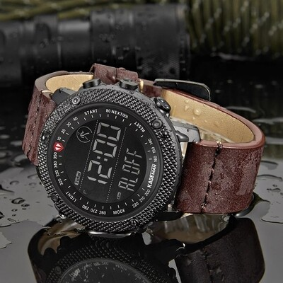 KADEMAN Luxury Brand Men Sport Watch Waterproof LED