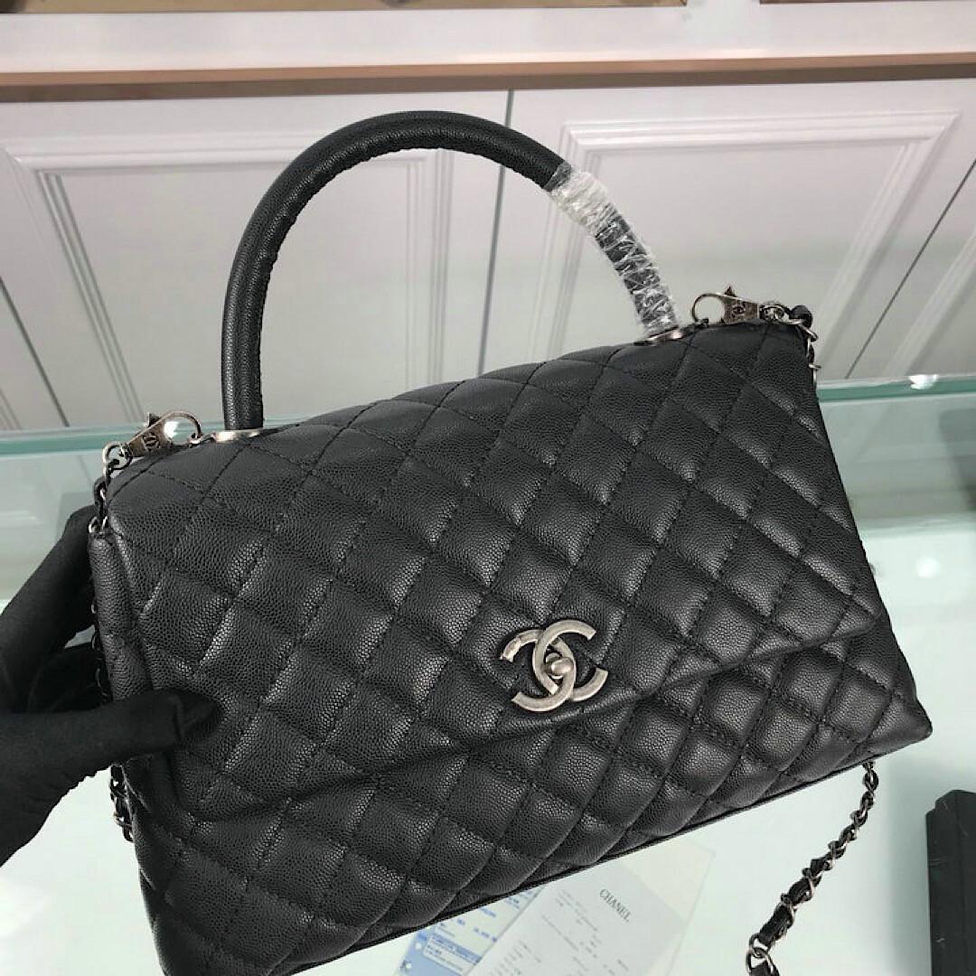 NEW LEATHER BLACK STYLISH BAG