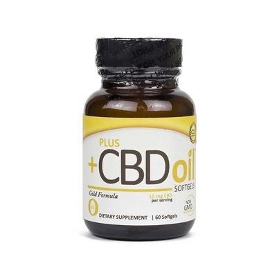 PlusCBD Gold 15 mg Softgels