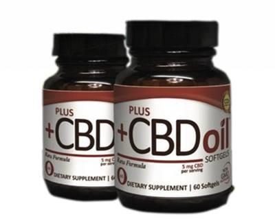 PlusCBD Raw CBD Softgels