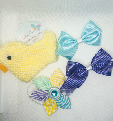 Easter bow Gift Set