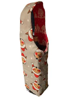 Christmas Bottle Bag
