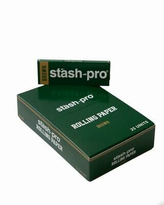 Pro Rolling Paper - 1-1/4th Brown