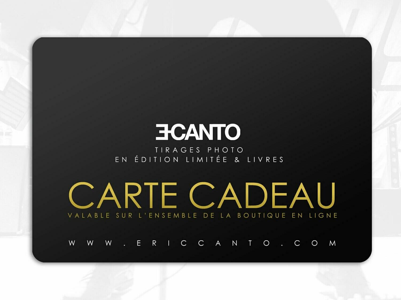 CARTE CADEAU - Tirages photo & livres