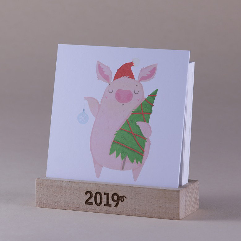 2019 Календарь 12 PiGS (12 Поросят)