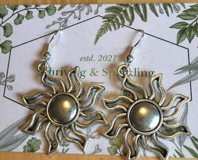 Thriving & Sparkling Sunshine Earrings