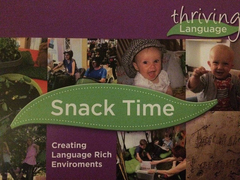 Snack Time – Creating Language Rich Environments
