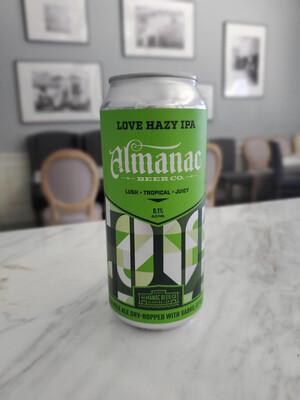 Love Hazy IPA, Almanac Beer Co.