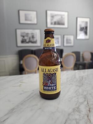 Allagash White, Belgian Style Wheat Beer