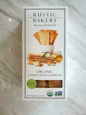 Rustic Bakery Rosemary & Olive Oil Organic Sourdough Flatbread