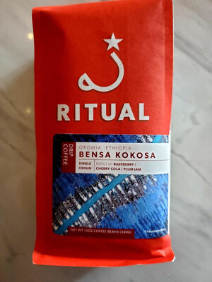 Ritual Coffee - Bensa Kokosa - Ethiopia