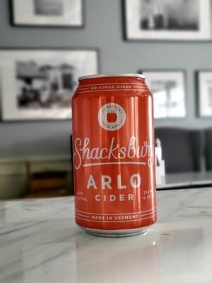 Arlo Cider by Shacksbury, Vermont
