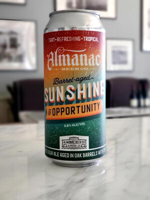 Almanac Beer Co Sunshine & Opportunity Barrel Aged Dry Hopped Sour Ale