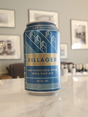 Villager IPA by Fort Point Beer Co.