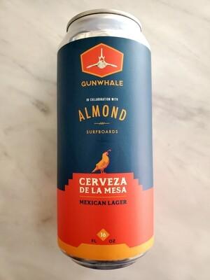 Cerveza de la Mesa by Gunwhale & Almond