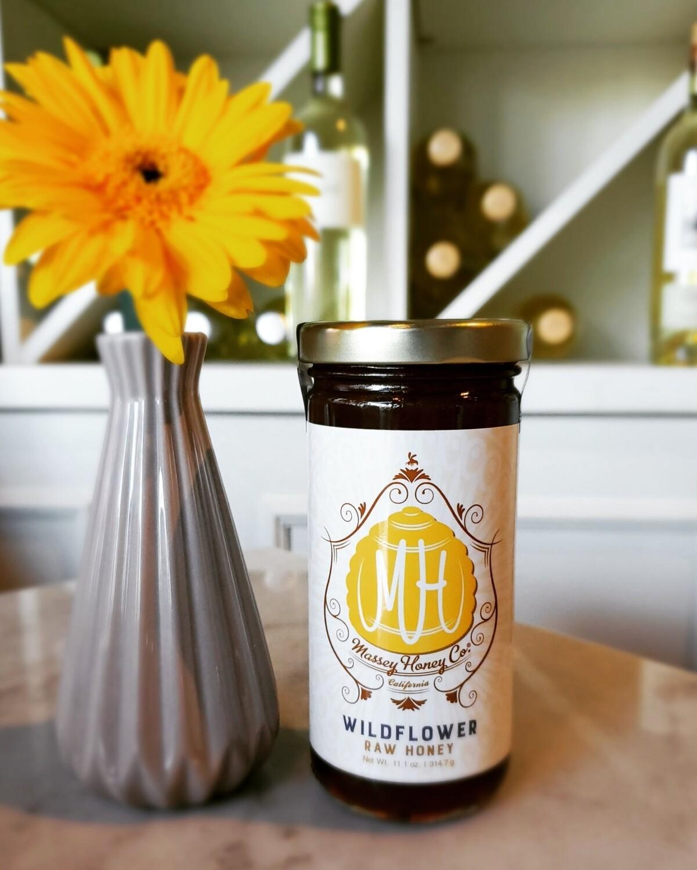 Massey Honey Co. Wild Flower Raw Honey