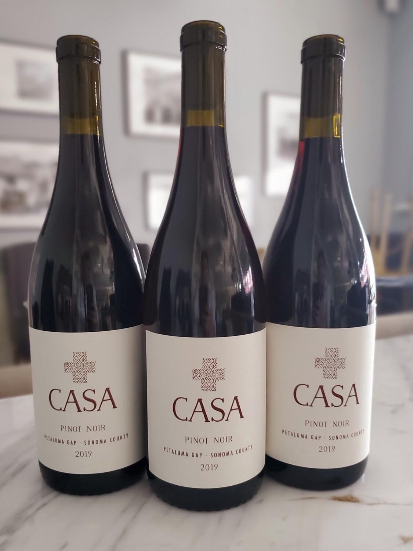 Casa by Keller Estate Pinot Noir, Petaluma Gap 2019