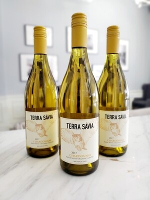 Terra Savia Chardonnay, Mendocino 2017