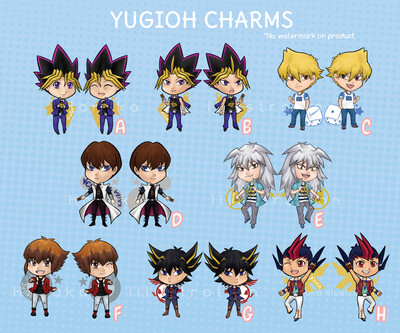 Yugioh charms