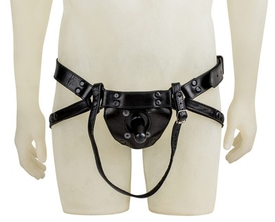 MR S LEATHER DILDO HARNESS