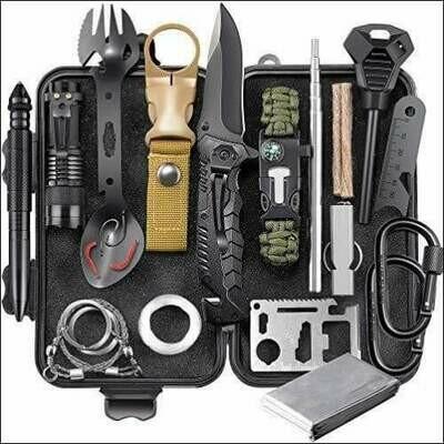 24 in 1 Emergency Survival Gear Kit
