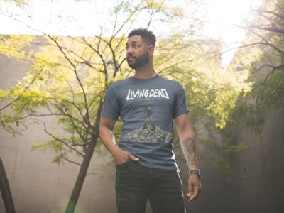 Skull Mountain Zombie T-Shirt
