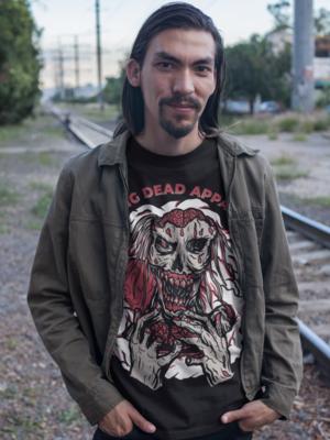 Zombie Eating Brain T-Shirt