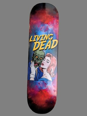 Comic Zombie Skateboard