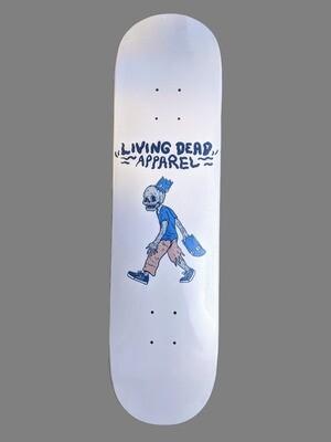 Zombie Skateboard Head Skateboard