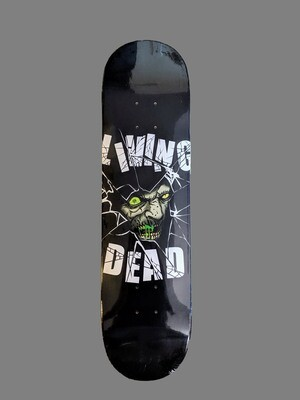 Zombie Breaking Through Skateboard