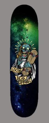 Zombie Skateboard Jesus Skateboard