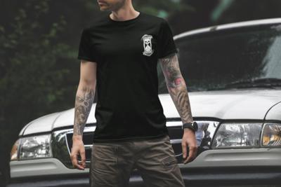 Skeleton Hourglass T-Shirt
