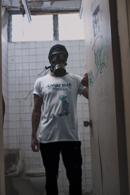 Zombie Bird Box Color T-Shirt