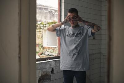 Zombie Bird Box Black T-Shirt