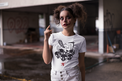 Cat Reaper Black T-Shirt