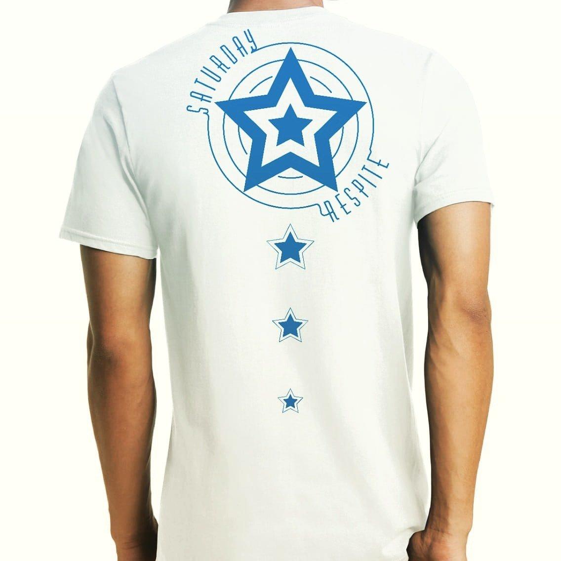 White Saturday Respite T-Shirt