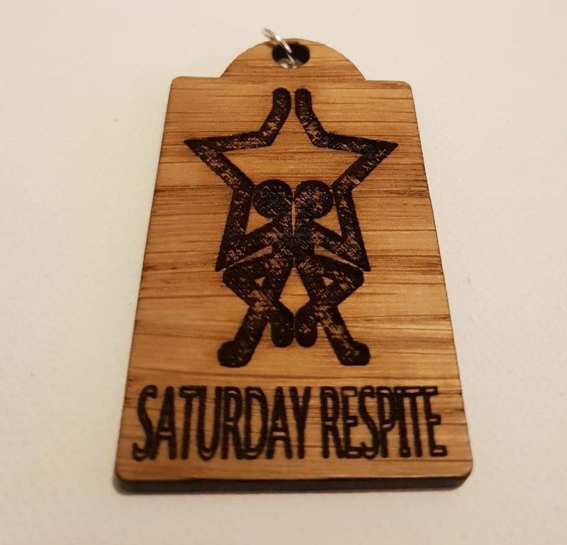 Saturday Respite Keyring