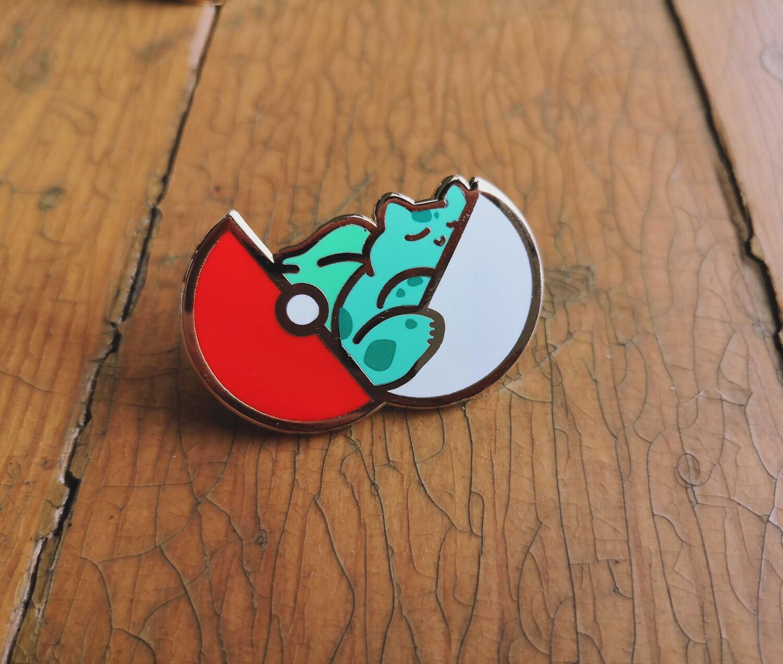 Pokémon: Sleep Sleep (Bulbasaur) - Hard Enamel Pin