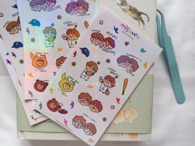 Misawa - Stickers